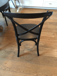 Restoration Hardware Metal Madeleine Dining Chairs - Set ...