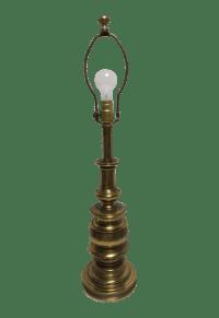 Vintage Stiffel Brass Lamp | Chairish
