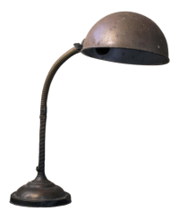 Vintage 1930s Gooseneck Desk Lamp | Chairish