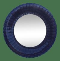 Sunburst Purple Wall Mirror | Chairish