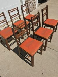 Vintage Contemporary Murphy Chairs - Set of 6 | Chairish