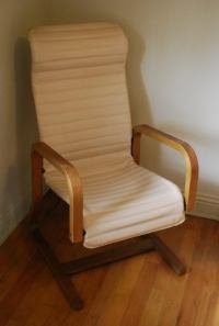 Mid-Century Modern Thonet Bentwood Lounge Chair | Chairish