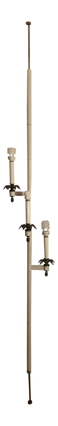 Stiffel Tension Pole Lamp | Chairish