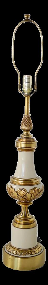1960's Hollywood Regency Stiffel Table Lamp | Chairish
