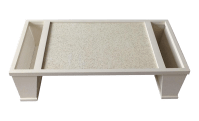 Mid-Century Modern Party Serving Tray | Chairish