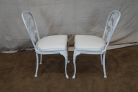 Vintage Cast Aluminum Patio Set - Set of 5 | Chairish