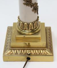 Stiffel Hollywood Regency Torchiere Lamp