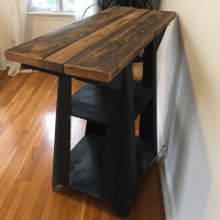 Industrial Standing Desk
