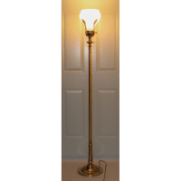 Hollywood Regency Stiffel Torchiere Floor Lamp | Chairish