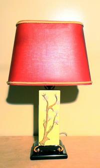 Vintage Japanese Style Table Lamp | Chairish
