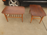 Mid-Century Danish Modern Lane End Tables | Chairish