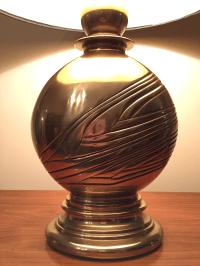 Vintage Hollywood Regency Stiffel Brass Lamp