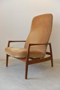 Dux Mid-Century Lounge Chair | Chairish