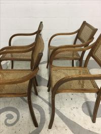 Thonet Mid Century Bentwood Chairs - Set of 4 | Chairish