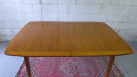 Mid-Century Modern Extension Dining Table | Chairish