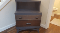 Mid Century Modern Ombre Nightstand
