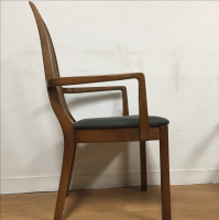 Mid-Century Cane Back Dining Chairs - Set of 6 | Chairish