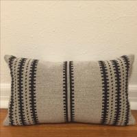 Restoration Hardware Tribal Lumbar Pillows - Pair   Chairish