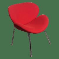 "Bremen Red ""Lips"" Chair | Chairish"