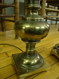 Stiffel Vintage Brass Table Lamps - A Pair | Chairish