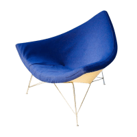 Vintage George Nelson for Herman Miller Coconut Chair ...