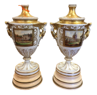 Antique Dresden German Porcelain Lamps - Carl Thieme ...