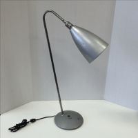Industrial Gooseneck Table Lamp | Chairish