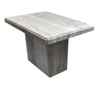 Travertine Coffee Table | Chairish