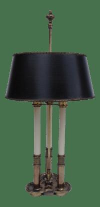 1970's French Stiffel Bouillotte Lamp | Chairish