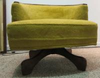 Mid-Century Danish Modern Swivel Club Chair | Chairish