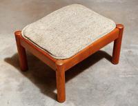 Danish Modern Lounge Chair & Ottoman | Chairish