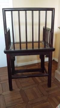 Chinese Huanghuali Style Chairs - Pair | Chairish