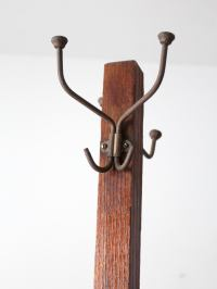 Antique Mission Coat Rack
