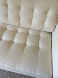 Crate and Barrel Petrie Apartment Sofa | Chairish