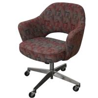 Vintage Mid-Century Saarinen Office Chair   Chairish