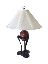 Vintage Chapman Centaur Marble Egg Lamp | Chairish
