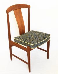 Mid-Century Dux Teak Chair by Folke Ohlsson | Chairish