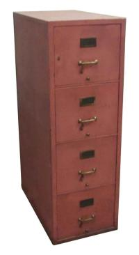 Pink File Cabinet | Chairish