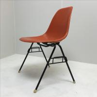 Vintage Herman Miller Fiberglass Stacking Chair | Chairish