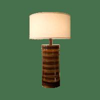 Mid-Century Danish Modern Ceramic Table Lamp | Chairish