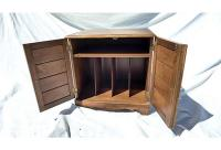 Vintage Maple File Cabinet | Chairish