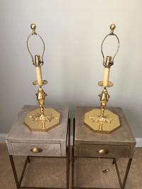 Vintage Chapman Frog Lamps - A Pair | Chairish