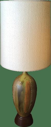 Lava Glaze Table Lamp | Chairish