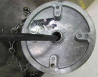 Industrial Steel Oversized Pendant Light | Chairish
