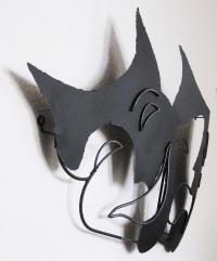 Curtis C. Jere Vintage Mid-Century Modern Metal Wall ...