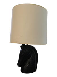 Jonathan Adler Horse Head Table Lamp | Chairish