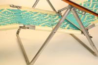 Mid-Century Modern Aluminum Folding Chaise Lounge Chairs ...