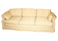 Vintage Lawson Style Fabric Sofa/Couch | Chairish
