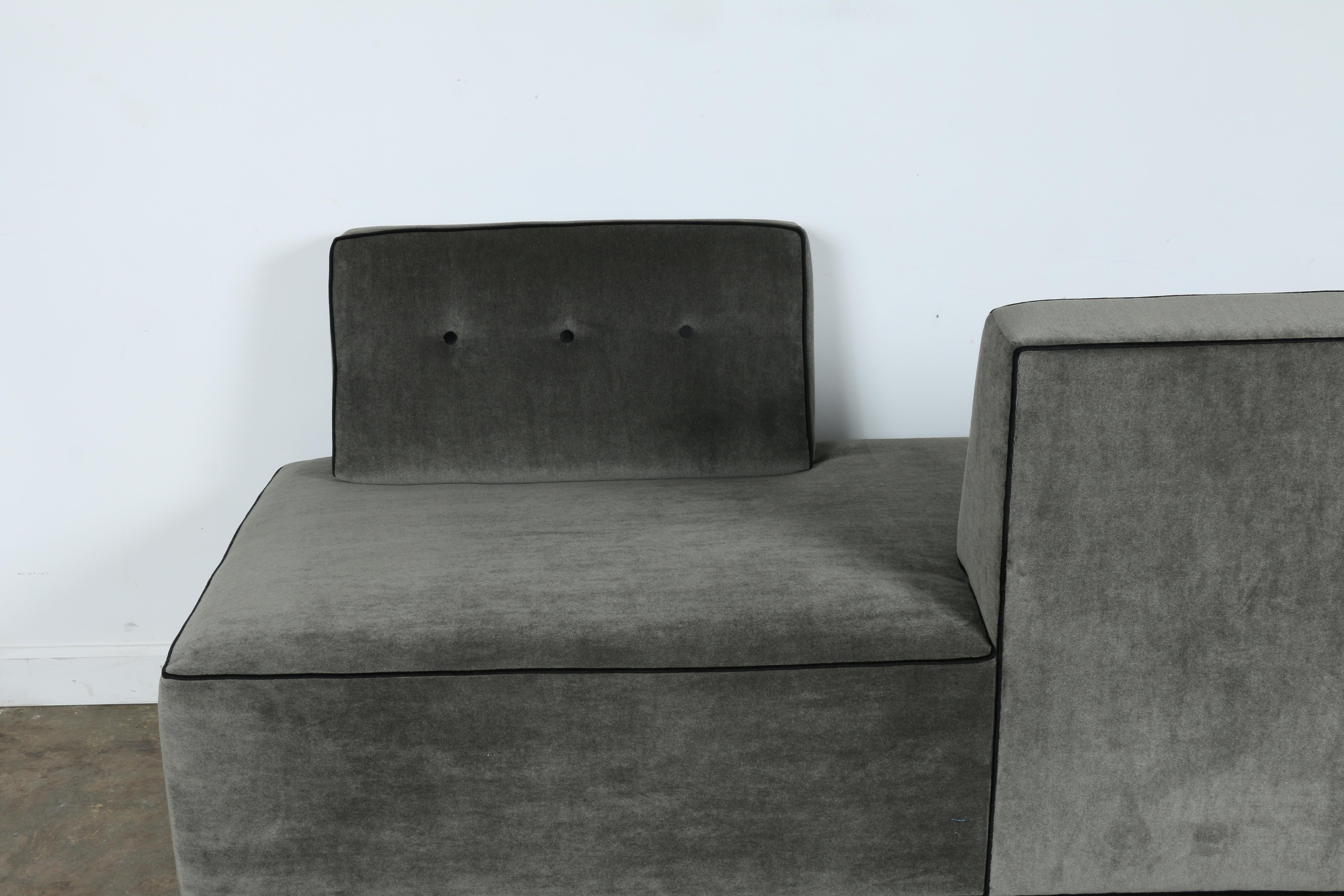 Two Sided Sofa Double Sided Sofa Modern Baci Living Room