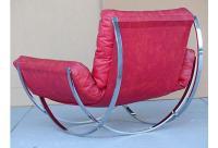Mid-Century Orbital Low Profile Lounge Chair | Chairish